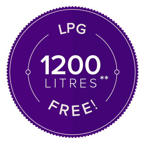 1200 Litres Free with Flogas