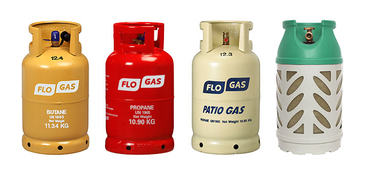 Flogas Bottled Gas Cylinders