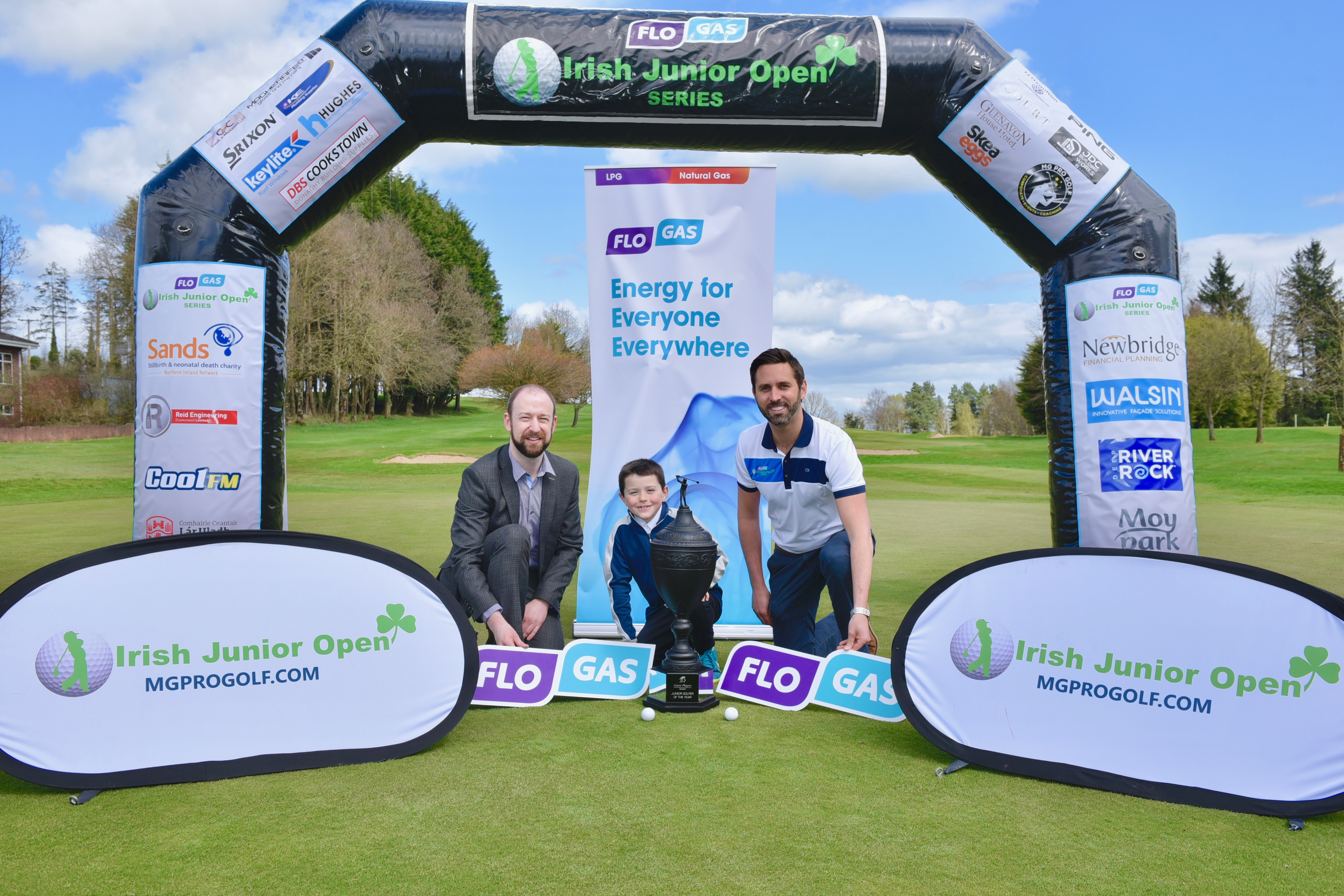 Flogas Irish Junior Golf Open tees up for exciting 2018 Series