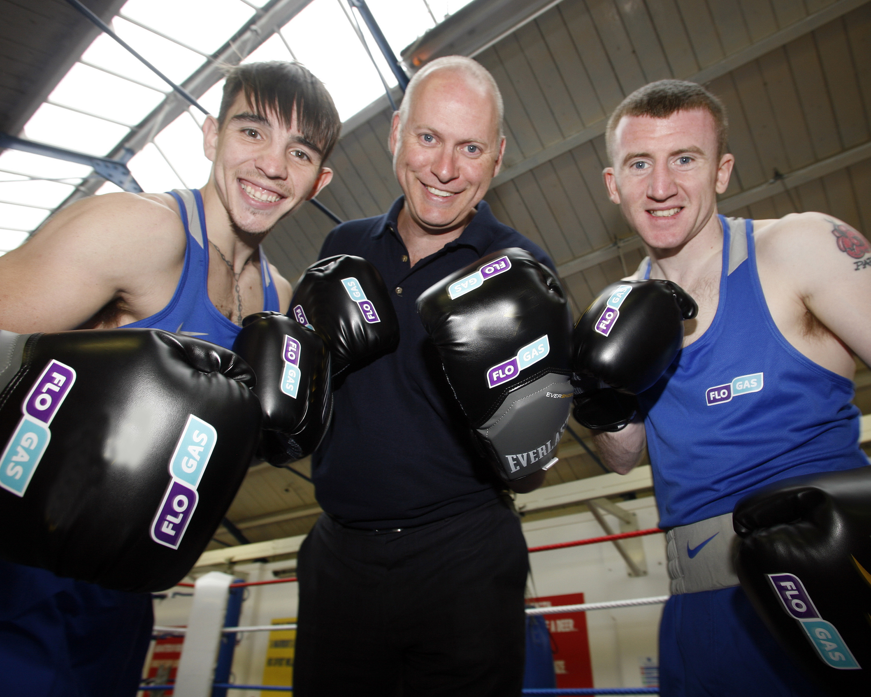 Flogas Sponsor Boxers Michael Conlan and Paddy Barnes