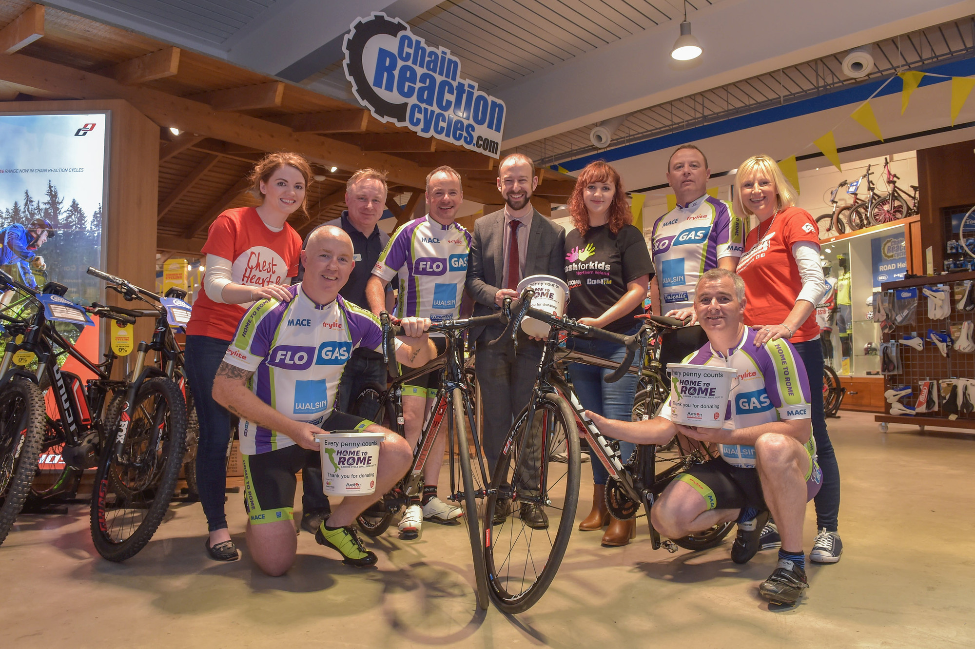 Flogas Distributor takes on Challenge of a Lifetime for Three Local Charities