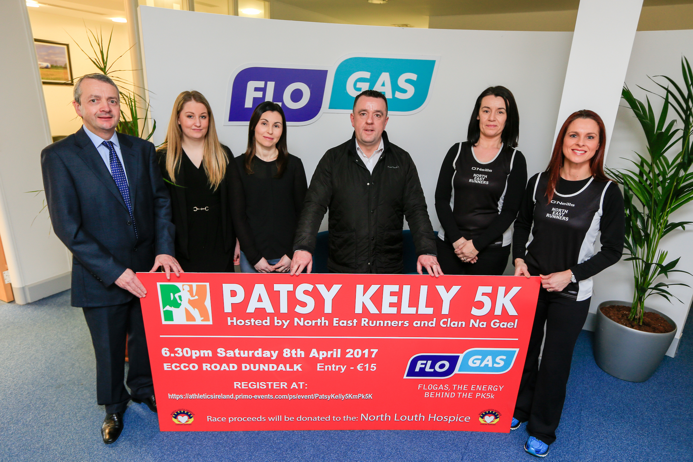 Flogas sponsors Patsy Kelly 5K in aid of North Louth Hospice